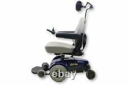 Jazzy Select Electric Wheelchair 19x19 Siège Avec Headrest Furtif Recline