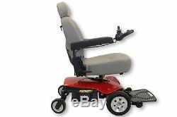 Jazzy Sport Président Portable Red Power Pride Mobility 18 X 18 Siège