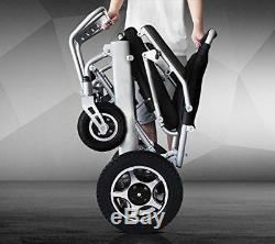Le Scooter Électrique Motorisé De Fauteuil Roulant De Pli Et De Voyage Seulement 50lb Tient 360lb