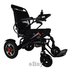 Le Scooter Motorisé De Fauteuil Roulant D'énergie Électrique De Pli Et De Voyage Seulement 55lb Tient 360lb