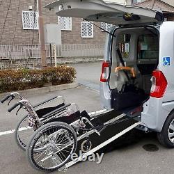 Livebest 4ft Pliant Fauteuil Roulant Ramp Portes Transporteur Seuil De Mobilité Scooter