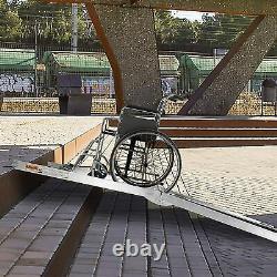 Livebest 6'/8' Ramp En Fauteuil Roulant Portable Scooter De Mobilité Sans Glissement Seuil Ramp