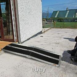 Lonabr 6ft Ramp En Fauteuil Roulant Portable Seuil Pliant Stairs Scooter De Mobilité