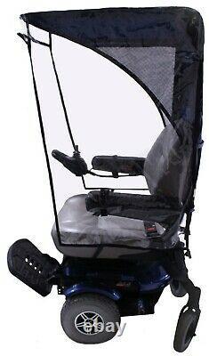 Max Protection Weatherbreaker Canopy Pour La Mobilité Scooters & Power Fauteuils Roulants