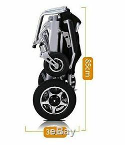 Meilleur Fauteuil Roulant Électrique, Portable Motorisé Pliable Fauteuil Roulant Scooter Électrique