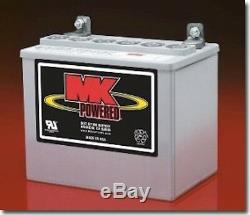 Mk Battery U1 Sealed Gel Paire De Batteries Pour Scooters Et Fauteuils Roulants Électriques