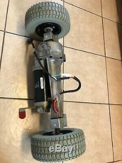Moteur Et Boîte De Vitesses Et Frein Assy Roues Rascal 600 Mobilité Scooter Électrique