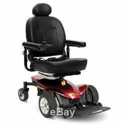 Nouveau 2018 Pride Mobility Jazzy Elite Es Fauteuil Roulant Électrique Roue Rouge Traction Avant