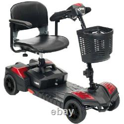 Nouveau Et Voyage Électrique 4 Roues Mobility Scooter Power Wheel Chaise Légère