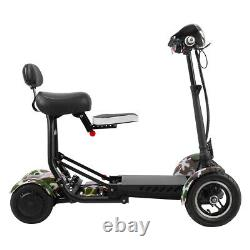 Nouveau Foldable Lightweight Mobility Scooter Heavy Duty Perfect Travel
