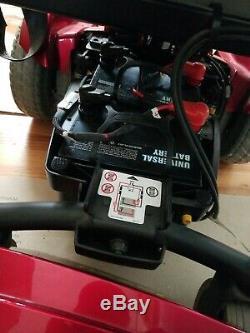 Open Box Pride Mobility Jazzy Sélectionnez Avec De Nouvelles Batteries, Chargeur Et Manuel Complet