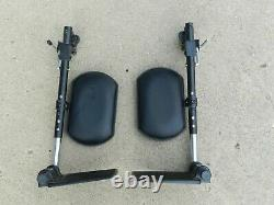 Pair Of Leg Support Repose For Pride Jazzy Sélectionner Elite Power Scooter En Fauteuil Roulant