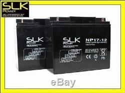 Paire 12v 17ah Mobilite Electrique Scooter Batteries En Fauteuil Roulant, As 18ah / 20ah