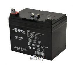 Paquet De 2 Batteries Pour Scooter De Fauteuil Jazzy Select Gt Power Rg12350 12v 35ah