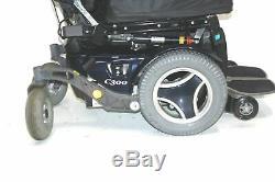Permobil C300 Fauteuil Motorisé 18x19 Inclinaison Du Siège Et Pouvoir Élévatrices Jambes 18x19
