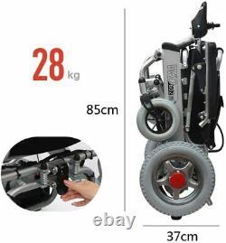 Plier Et Voyager Fauteuil Roulant Électrique Mobilité Médicale Puissance Fauteuil Roulant Scooter