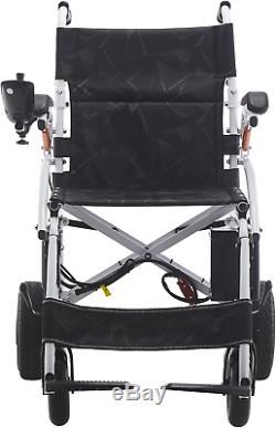 Poids Léger En Fauteuil Roulant Électrique Pliant Mobilité Portable Scooter Chaise Roue
