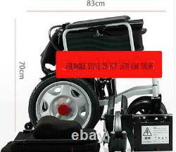 Portable Folding Power Electric Wheelchairs Elderly Disabled Scooter Dual Motors