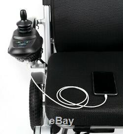 Porto Mobilité Aérienne Capable Léger Pliable Haut De Gamme Motorisé Chaise De Roue