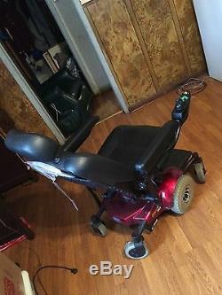 Power Mobility, Fauteuil Motorisé Rouge Pronto M41