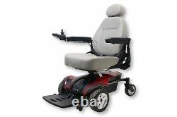 Pride Jazzy Select Elite Electric Wheelchair 18 X 19 Seat Manual Incurie