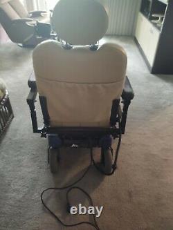 Pride Jet 7 Power Chair Electric Motorized Fauteuil Roulant Scooter Légèrement Utilisé Mint