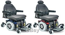 Pride Mobility Jazzy 614 Hd Heavy Duty MID Wheel Electric Power Chaise Fauteuil Roulant