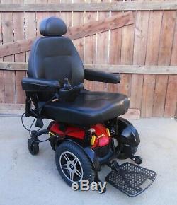 Pride Mobility Jazzy Elite Hd Puissance Avec Fauteuil 450lb Scuffs Scratches