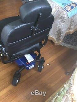 Pride Mobility Jazzy Select 6 MID Wheel Drive Electric Power Chaise Fauteuil Roulant