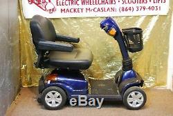 Pride Mobility Maxima 4 Roues Scooter Électrique En Fauteuil Roulant Hd New Batteries