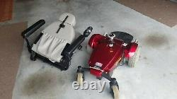 Pride Mobility Produit Jazzy Select Gt Red Power Chair Scooter Excellent Manuel