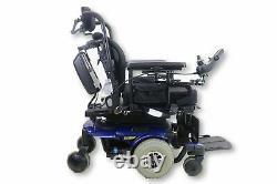 Pride Mobility Quantum Rehab 610 Power Chair Tilt & Power Legs 18x19 Siège