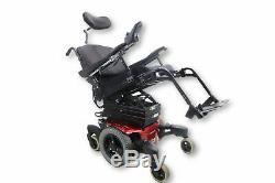 Quickie Qm-710 Fauteuil Motorisé Siège Elevate, Inclinable Et 17 X 20 Recline Seat