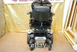 Quickie Qm-710 Fauteuil Roulant Électrique Scooter Avec Pieds D'inclinaison / Inclinaison / Nouvelles Batteries Alimentation