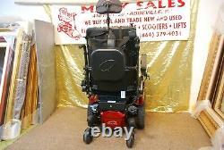 Quickie Qm-710 Power Wheelchair Scooter Avec Power Seat/ Tilt/legs/préposé