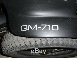 Quickie Qm-710 Scooter D'accessibilité Pour Fauteuil Roulant À Propulsion Électrique À Propulsion Électrique