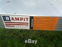 Rampe De Handicap En Aluminium Pour Fauteuil Roulant, 40 'de Long Avec 4 Plateformes, Ramassage Uniquement