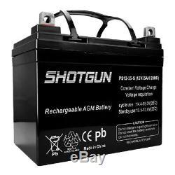 Rg12350 12v 35ah Jazzy Select Gt Scooter Fauteuil Motorisé Batterie Pack 2