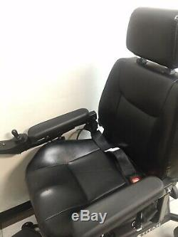 Roues Motrices Titan Avant Médical Fauteuil Roulant Électrique Avec Seat Full Back Capitaine