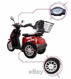 Scooter 600w Fauteuil Roulant Tricycle Handicap Handicapé 3 Roues Mobilite Electrique