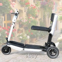 Scooter À Mobilité Électrique 3 Roues 3 Vitesse Mode Fauteuil Roulant Motorisé Pliage 48v