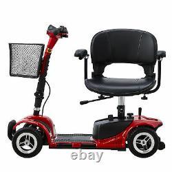 Scooter De Mobilité 4 Roues Équivalent En Fauteuil Roulant Pour Les Adultes