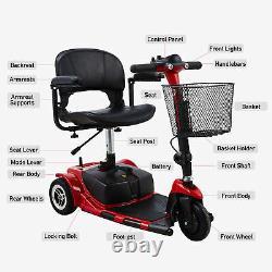 Scooter De Mobilité Électrique 3 Roues En Fauteuil Roulant Égal Pour Les Aînés Adultes W Blessures