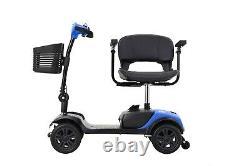 Scooter De Mobilité Électrique Alimenté Compact Lourd Service Pour Les Adultes Voyage Plus Âgés