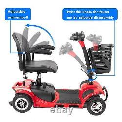 Scooter De Mobilité Électrique Électrique En Fauteuil Roulant À 4 Roues Compact Duty Us