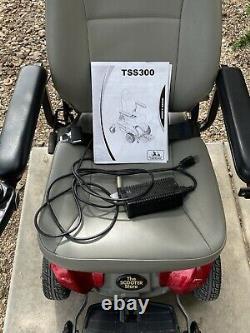 Scooter De Mobilité En Fauteuil Roulant Électrique Tss300, Nouvelles Batteries, Bon État