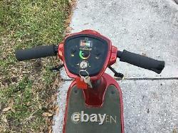 Scooter De Mobilité Golden 3000 Rouge