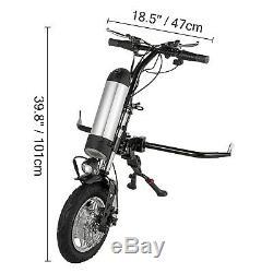 Scooter Électrique 36v 350w Vélo À Main Électrique Connectable Fauteuil Roulant Vélo À Main