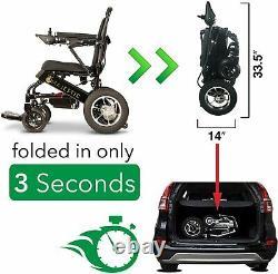 Scooter Électrique Automatisé De Puissance De Fauteuil Roulant Léger De Pli De Fauteuil Roulant