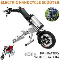 Scooter Électrique Connectable Handbike Fauteuil Roulant Vélo À Main 36v / 10ah 350w